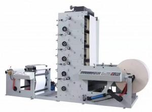 LRY SERIES VERTICAL TYPE FLEXO PRINTING MACHINE